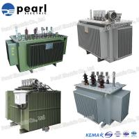 Energy Saving Oil Immersed Transformer With Low Loss 100 KVA 10KV Manufactures