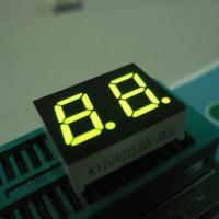 Green Small Custom 7 Segment Led Display Two Digit For Instrument Panel 0.4 Inch Manufactures