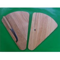 Triangle shape wooden cheese board with S/S knife Manufactures