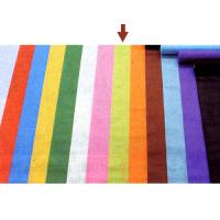 China Colorful Polyester Needle Punched Felt , Punch Needle Fabric 50gsm ~ 500gsm on sale