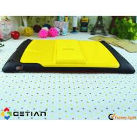 Yellow Tablet PC iPad Protective Cases With Bluetooth Keyboard Manufactures