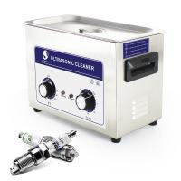 China 2L Fast Removing Contaminant Digital Ultrasonic Cleaner For Nail Salon on sale