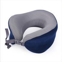 China Travel Accessories Memory Foam Neck Roll Pillow For Neck Pain , Long Life on sale