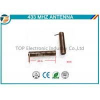 China Long Range 433Mhz Antenna Wireless Communication PCB Antenna spring antenna small size on sale
