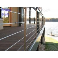 Models railings for balconies with stainless steel handrail design Manufactures