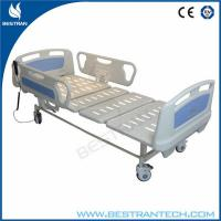 ABS Side Rails ICU Electric Hospital Beds Two Functions Hospital ICU Room Use Manufactures