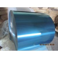 Colorful Hydrophilic Aluminium Foil 0.105MM Various Width For Fin Stock Manufactures