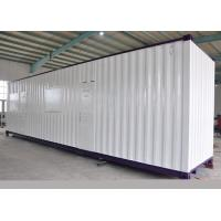 Steel Frame Modified Shipping Containers / Painting Steel Container Homes Manufactures