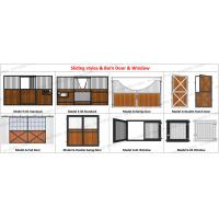Prefab Pre Built Horse Stall Stable 3M Posh Prefabricated Steel Structure Manufactures