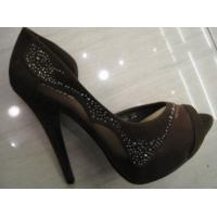 China Latest Ladies High Heel Leather Shoes 35-40 Sizes For Summer Or Spring on sale