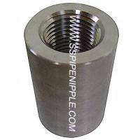 China Forged Stainless Steel Coupling Equal Shape SS Pipe Fitting CL300 on sale
