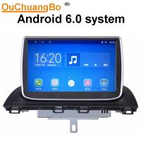 China Ouchuangbo car gps navi android 6.0 for Mazda CX-4 with Support Bluetooth connection to the phone, then play music on sale