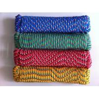 Colored Diamond Braided Poly Rope Manufactures