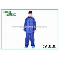 Nonwoven Flame Retardant Disposable Coveralls For Asbestos Removal Manufactures