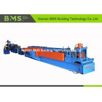 22 - Step PLC Control Steel C Purlin Roll Forming Machine With Full Auto Change Model 20m/min Manufactures