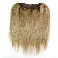 18 20 22 24 Qingdao Factory Light Color Halo Flip In Hair Extension With Fish Line Human Hair Manufactures