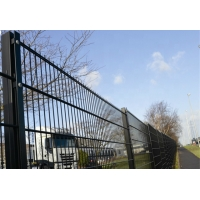 China 2D Residential Area 656 Double Wire Mesh Fence on sale