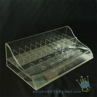 China clear plastic storage box divided on sale