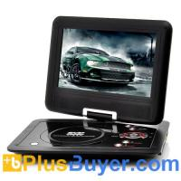 10 Inch Swivel Screen Portable DVD player (Hitachi 120x Lens, 1024*600, 16:9) Manufactures