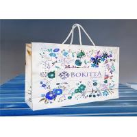 China OEM Paper Gift Bags With Customized Printed Logo / Jewelry Packaging Bags on sale