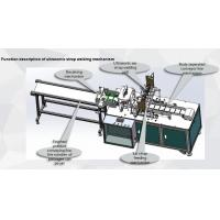 China Non Woven Mask Making Equipment , Safety Disposable Mask Machine on sale