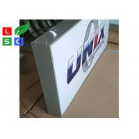 Signle Sided Custom LED Outdoor Light Box Front Signs For Shop, Bars Adersiting And Branding Manufactures