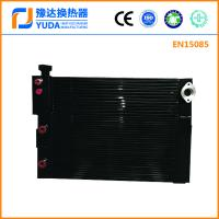 Compressor air oil cooler, air compressor cooler, screw compressor oil cooler, plate fin heat exchanger
