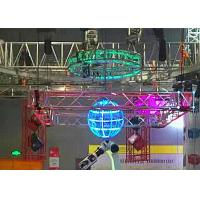 Aluminum Silver Led Display Hanging Stage Lighting Truss Convenience Anomaly Truss Manufactures