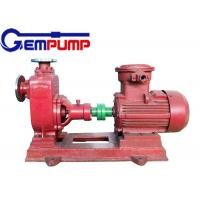 Electric motor ZX series horizontal self-priming centrifugal pump water pump Manufactures