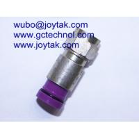F Compression Connector for RG6 Coax Cable F male connector for Audio and Video Cable Manufactures