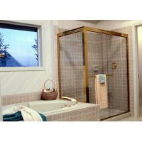 Safety Custom Bathroom Shower Glass4-12mm Thickness Fixed Shower Glass For Houses Manufactures