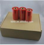 Premium high quality printer ribbon type red wax resin thermal transfer ink ribbon Manufactures