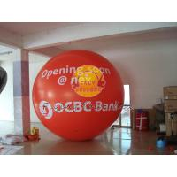 Custom Made Red Giant Fill Business Advertising Helium Balloons for Entertainment Events Manufactures