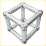 Spigot Aluminum Alloy Stage Truss Coupler With Six Corner Coupler Manufactures