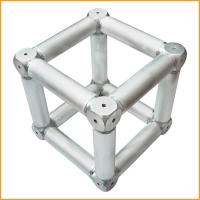 Spigot Aluminum Alloy Stage Truss Coupler With Six Corner Coupler Manufactures