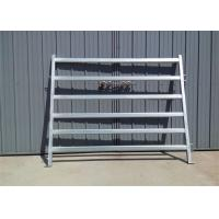 Heavy Duty Galvanized Cattle Yard Horse Fence Panel livestock panels Manufactures