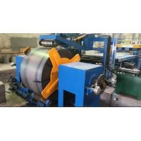 China 800 - 1600mm Q235A hot rolled mild Steel Coil Cut To Length Machine Line on sale