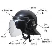 Light weight  Anti Riot Tactical Helmet with metal visor Manufactures
