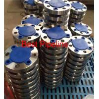 ASME B16.47 Large Diameter Forged Weld Neck Flange Blind Class 300 Series A 2ASTM A 105 Manufactures