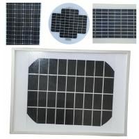 Mini Size Mono Silicon Solar Panels18v PV Cells With High - Transmittance Glass Manufactures