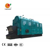 Three Return Biomass Steam Boiler / Wood Fired Industrial Boilers Alcohol Distillation Usage