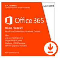 32 Bit Microsoft Office 365 Product Key One License For 5 PC / Mac Manufactures