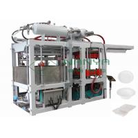 Fast Speed Molding Tableware Making Machine , Paper Plate Manufacturing Machine Manufactures