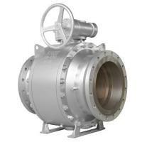 API6D FULL BORE BALL VALVE R-PTFE SEAT 150LB 14INCH BALL SS304 GEAR OPERATE Manufactures