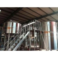 High Efficiency Craft Beer Large Scale Brewing Equipment Siemens Control System Manufactures