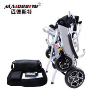 Innovative Design Electric Folding Wheelchair OEM / ODM Available Manufactures