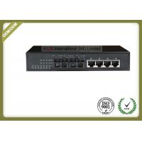 RJ45 Ethernet Port Fiber Optic Media Converter 10/100/1000M Unmanaged Ethernet Switch Manufactures