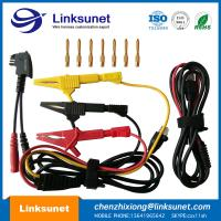 Alligator Clip Injection Wiring Harness UL94 - V0 PVC Material 4.0MM PIN Manufactures