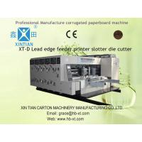 High Speed Corrugated Paper Cardboard Box Making Machine With Chain Feeder Manufactures