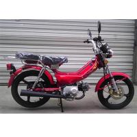 Two Seat Real Leather Mini Motor Scooter ,  Low Noise Small 50cc Dirt Bike